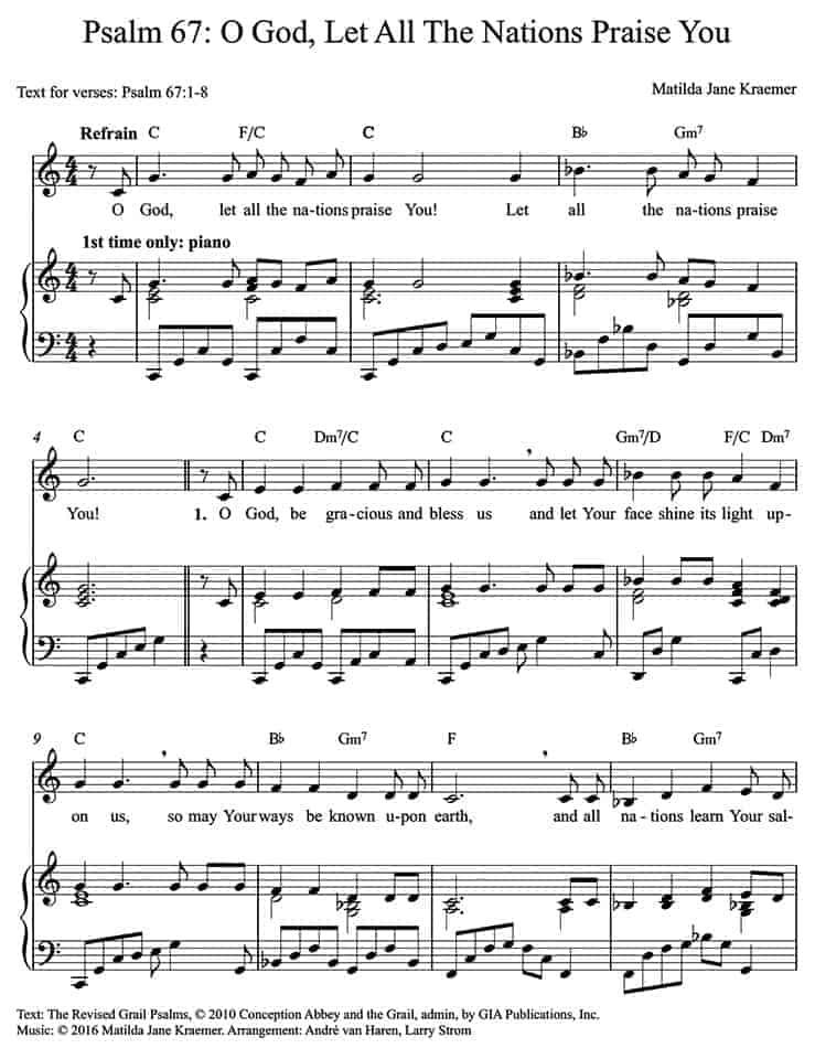 Responsorial Psalms (English) – Catholic Liturgy in Song